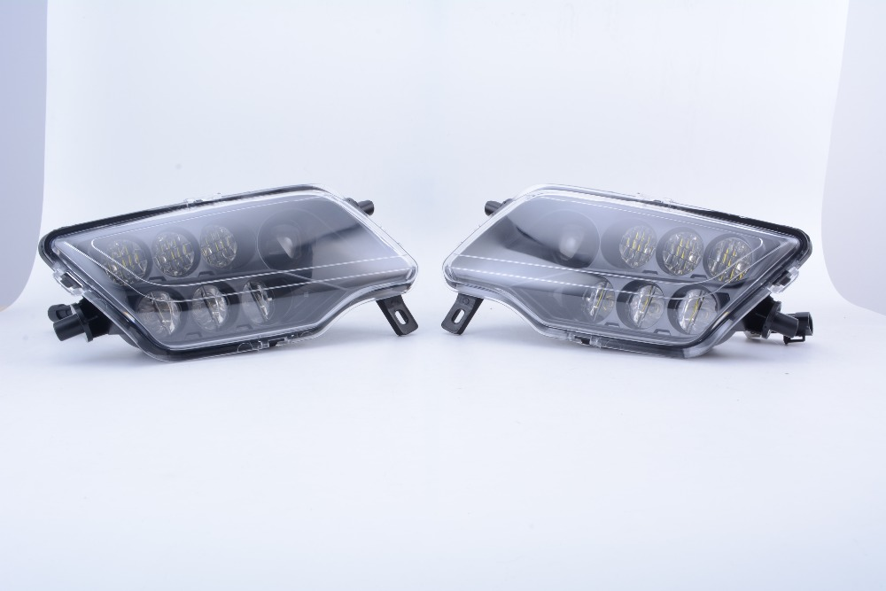 US $190 0 5% OFF|For HONDA PIONEER LED HEADLIGHTS KIT / PAIR PIONEER 500  /700 MOD-in Car Light Assembly from Automobiles & Motorcycles on