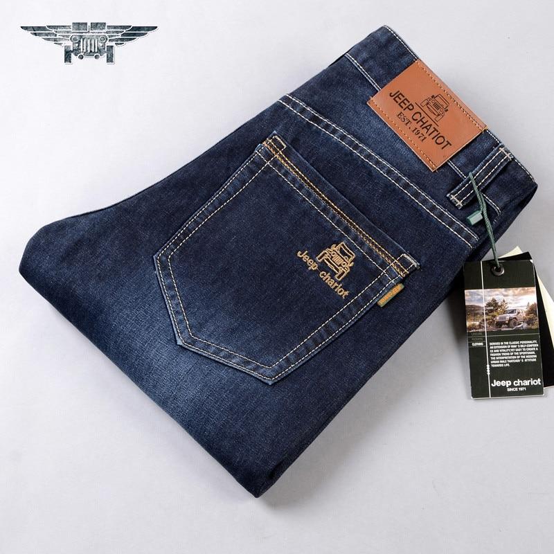 2016 Brand High Quality Casual Jeans Men's Denim Trousers Pants Male Loose Straight Jeans #8009 men slim jeans high quality brand straight denim overalls male trousers fashion classic 6xl boyfriend casual cowboy pants 2017