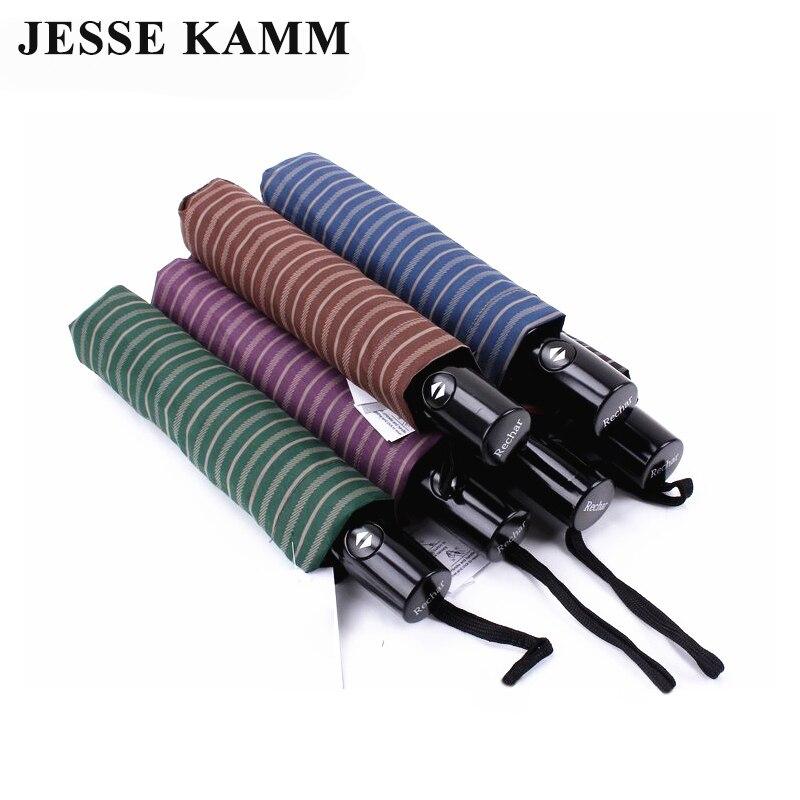 Jesse Kamm Новый падение покупки полностью автоматическая полосы большой сильный Ветрозащитный для женщин мужчин нежный досуг