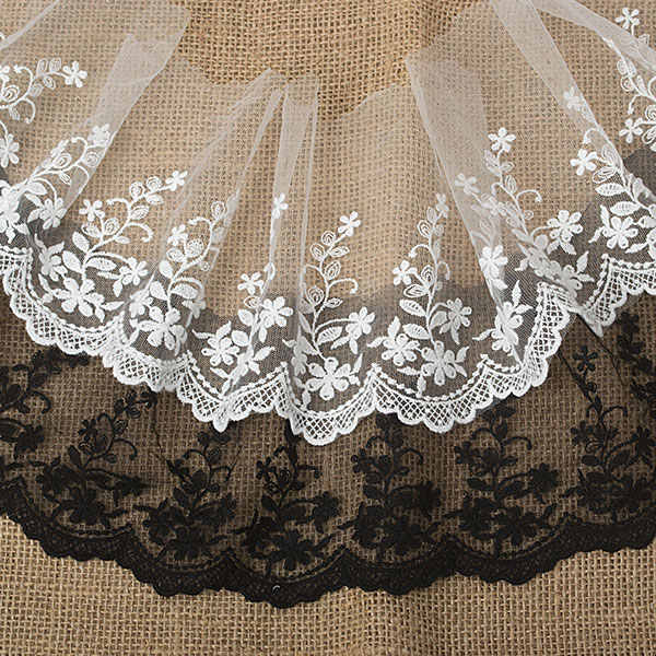 Quality Gesang gauze / clothing accessories embroidery lace / wholesale