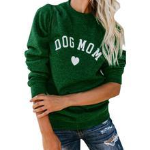 Dog Mom Lightweight Sweatshirt