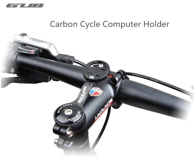 GUB Carbon Cycle <font><b>Computer</b></font> holder Bike Stopwatch Hold For Garmin CATEYE Bryton Code Table Bracket MTB Road Bicycle <font><b>Computer</b></font> Mount
