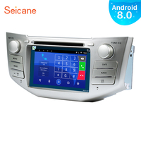 Seicane 2Din Android 8.0 7 Car Radio For Lexus RX 400h RX 330 RX 350 RX 300 Toyota Harrier GPS Multimedia Player With 3G WIFI