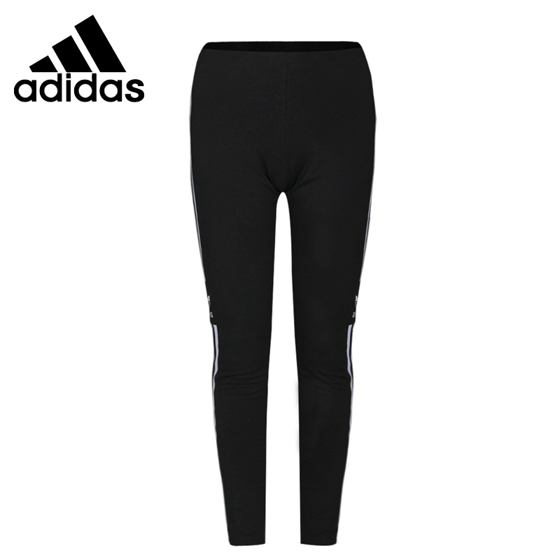 Original New Arrival  Adidas Originals TREFOIL TIGHT Women's  Pants  Sportswear