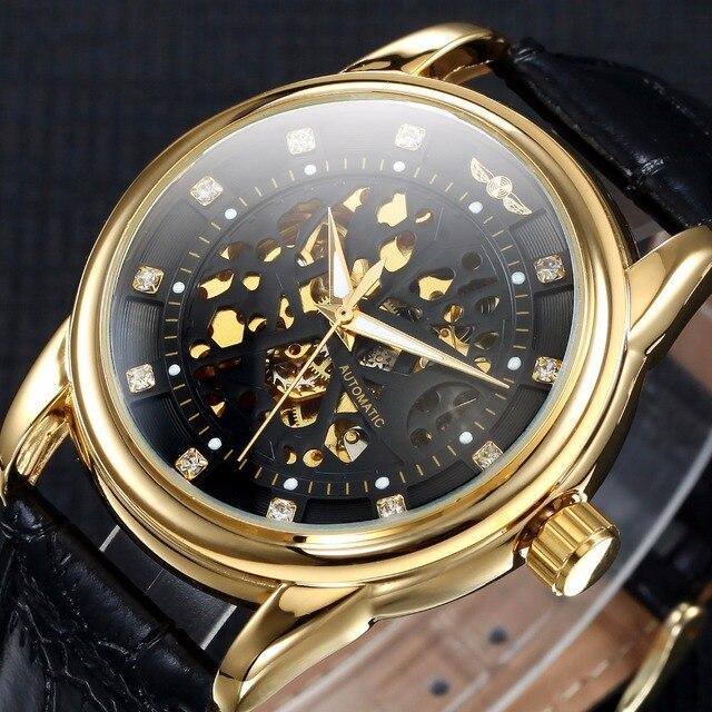 Luxury Brand Men Mechanical Watch Classic Date automatic Mechanical Watch Self-W