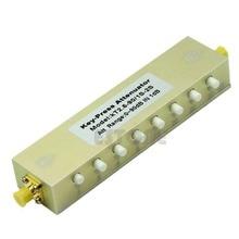 2019 Adjustable Press Variable Attenuator 5W DC-2.5Ghz 0-90dB SMA 8-key step 1db цена и фото