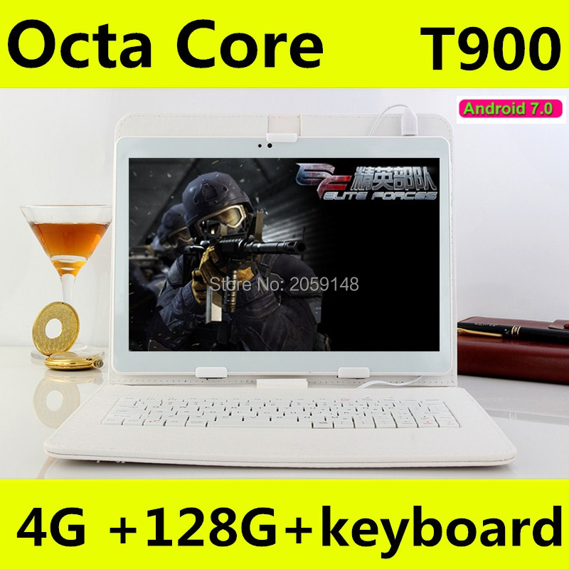 10.1 inch Octa Core 3G 4G LTE Tablets Android 7.0 RAM 4GB ROM 64GB 5.0MP Dual SIM Card Bluetooth GPS Tablets 10 inch tablet pc the tablet pc android 5 1 octa core 9 6 inch 3g 4g lte 4gb ram 64gb rom dual sim card phone call gps 1280 800 ips tablets 10