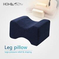 Concave Leg Knee Pregnance Pillow Spine Almofadas Memory Foam Cushion Sciatic Nerve Pain Relief Body Sleeping