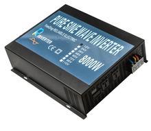 Fuera de la Red Inversor de Onda Sinusoidal Pura 8000 W 12 V 24 V 48 V 96 V 110 V DC A 100 V 110 V 120 V 240 V Transformador de CORRIENTE ALTERNA Con el mando a distancia