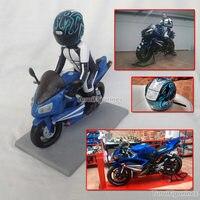 OOAK коллекция произведений искусства Полимерная глина мотоцикл модель ручной работы подарок кукла ездить реальные куклы модель подарок для
