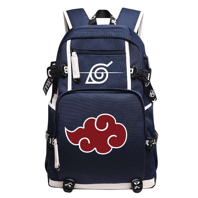 New Arrival Akatsuki Sharingan School Backpacks Laptop Shoulder Bag Cartoon Backpack 2018 Unisex Anime Bags Naruto Backpack 2017 new naruto school backpack anime bag cosplay cartoon student leisure back to school 17 backpacks laptop travel shouler bag