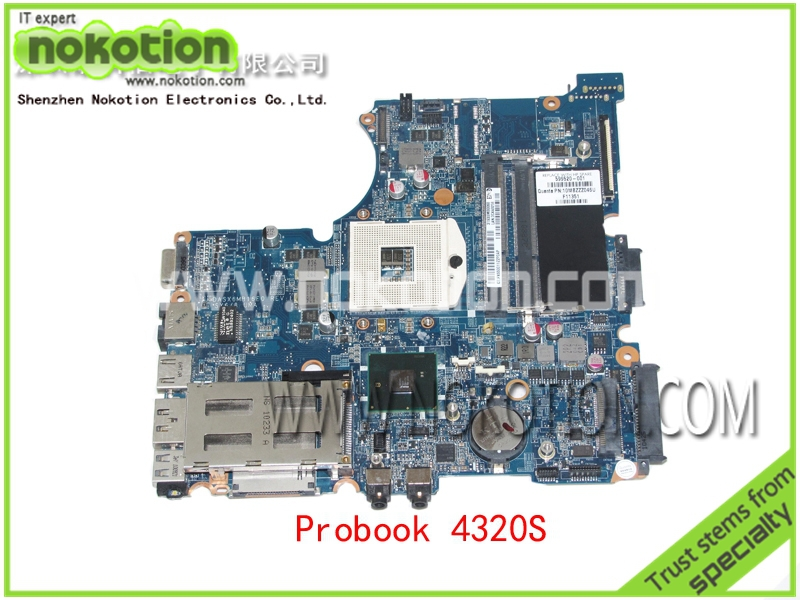 NOKOTION Laptop motherboard for HP Compaq Probook 4230s 4231s DASX6MB16E0 REV E SX6 8 UMA 599520-001 <font><b>Intel</b></font> HM57 chipest image