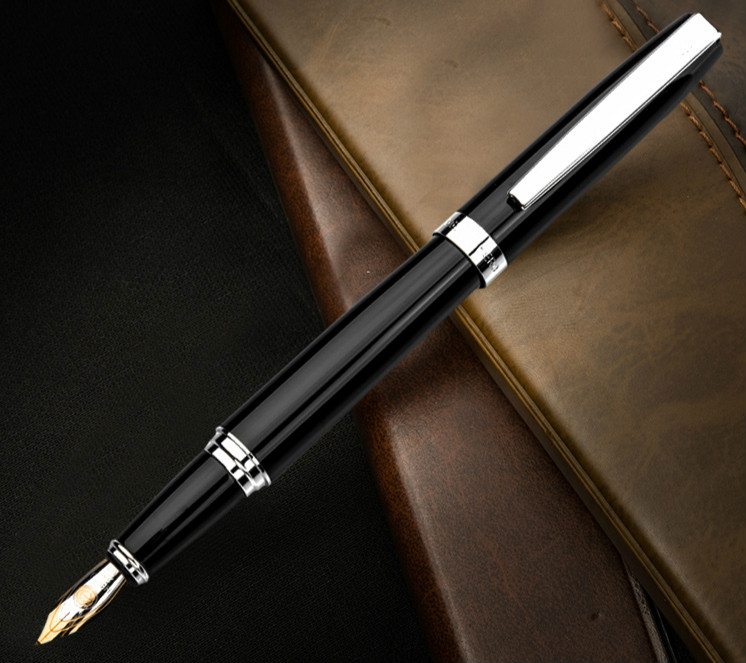 HERO 382 luxury standard writing ink fountain pen 0.5/0.8 mm calligraphy art student pen smooth writing school writing supplies