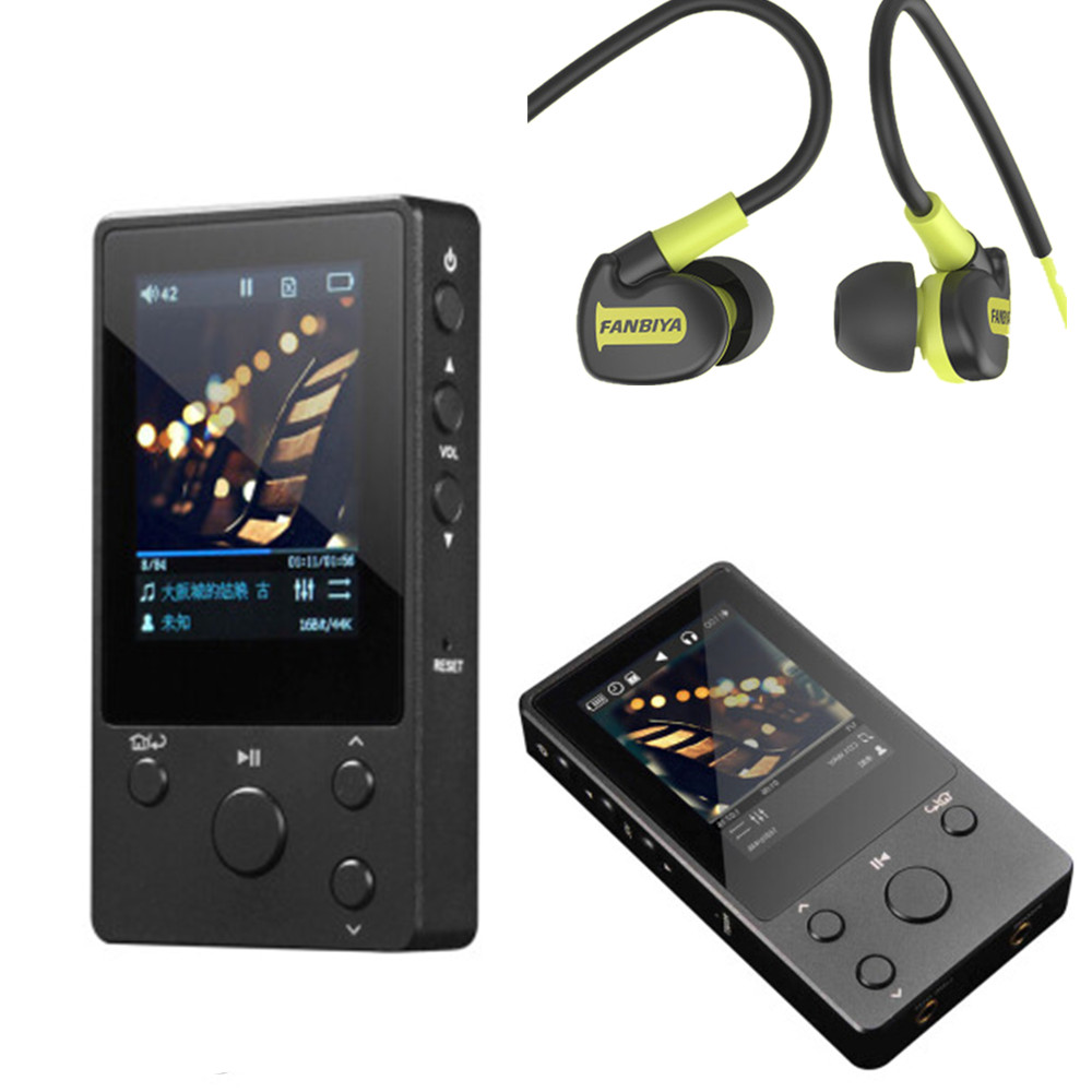 high-quality NANO D3 High Fidelity Lossless Music DSD HIFI Mp3 Player DAP Cheaper Than xDuoo X3 PK X10 new xduoo x10 32gb leather case portable high resolution lossless dsd music player dap support optical output mp3 player