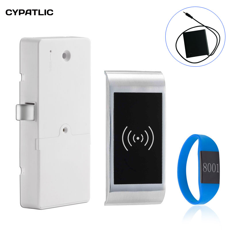 CYPATLIC Gym Furniture Security Digital Electronic Cabinet Lock Smart Keyless Cabinet Lock RFID CARD Locker LockCYPATLIC Gym Furniture Security Digital Electronic Cabinet Lock Smart Keyless Cabinet Lock RFID CARD Locker Lock