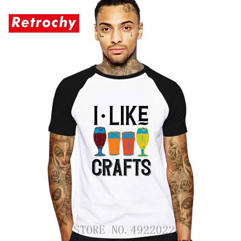 2019 Newest men's fashion Hops Beer T Shirt Craft Beer microbrew Home Brew Shirt IPA Pale Ale Funny Beer T Shirts ringer T-shirt image