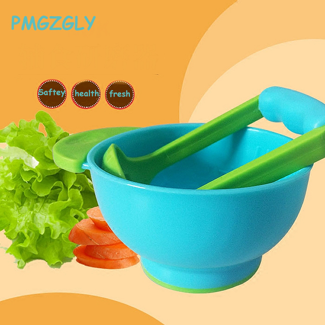 Baby Food Mills Kids Bowls Learn Dishes Handmade Grinding Tool Food Fruit Supplement Children Infant Food Mills Feeding Dishes