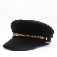 Зимняя женская теплая шапка, толстые шерстяные береты, шапки для пастухов, береты, мужские береты, крутой стиль, Прямая с фабрики
