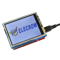 Elecrow 2.8 Inch TFT Touch Shield V4.3 for Arduino Mega 240x320 LCD Modules 2.8 TFT Display with SD Card DIY Kit