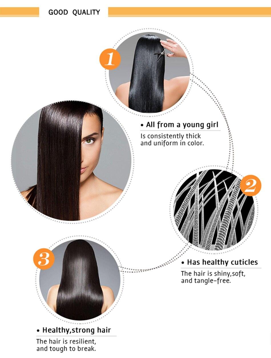 Encaracolado frontal do laço do cabelo humano