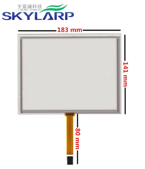 все цены на 8 inch 4 wire 183mm*141mm Industrial equipment Resistive Touch Screen Digitizer EJ080NA-5A; AT080TN52 V.1 LCD touch screen онлайн