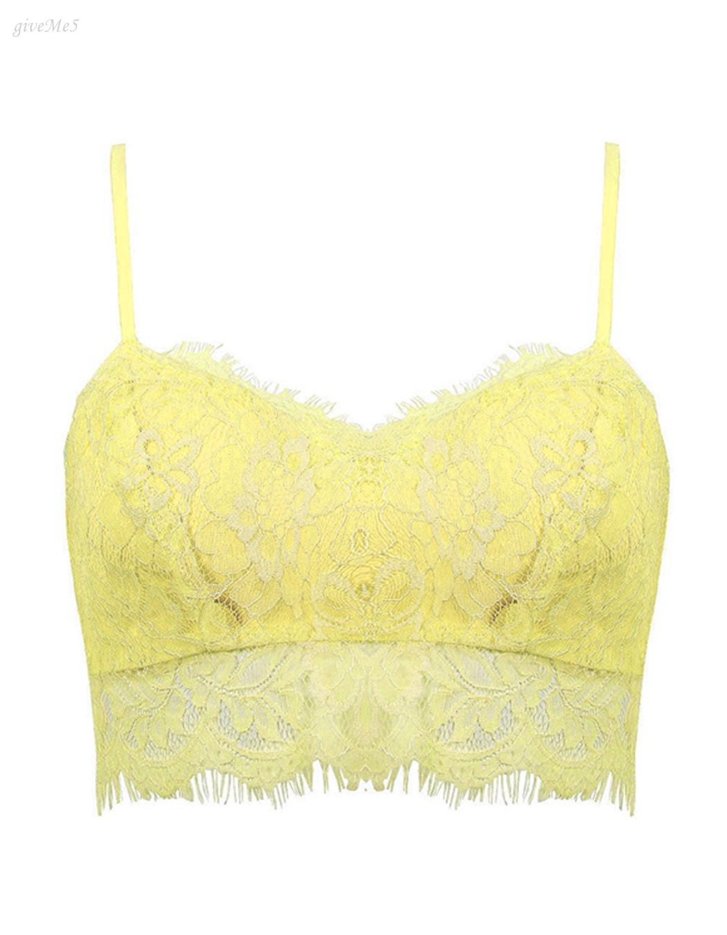 ea3ebc58e727e 2017 Women Floral lace Spaghetti strap crochet crop sexy cropped camisole  bra Cami Tank Top B2  41-in Camis from Women s Clothing on Aliexpress.com  ...