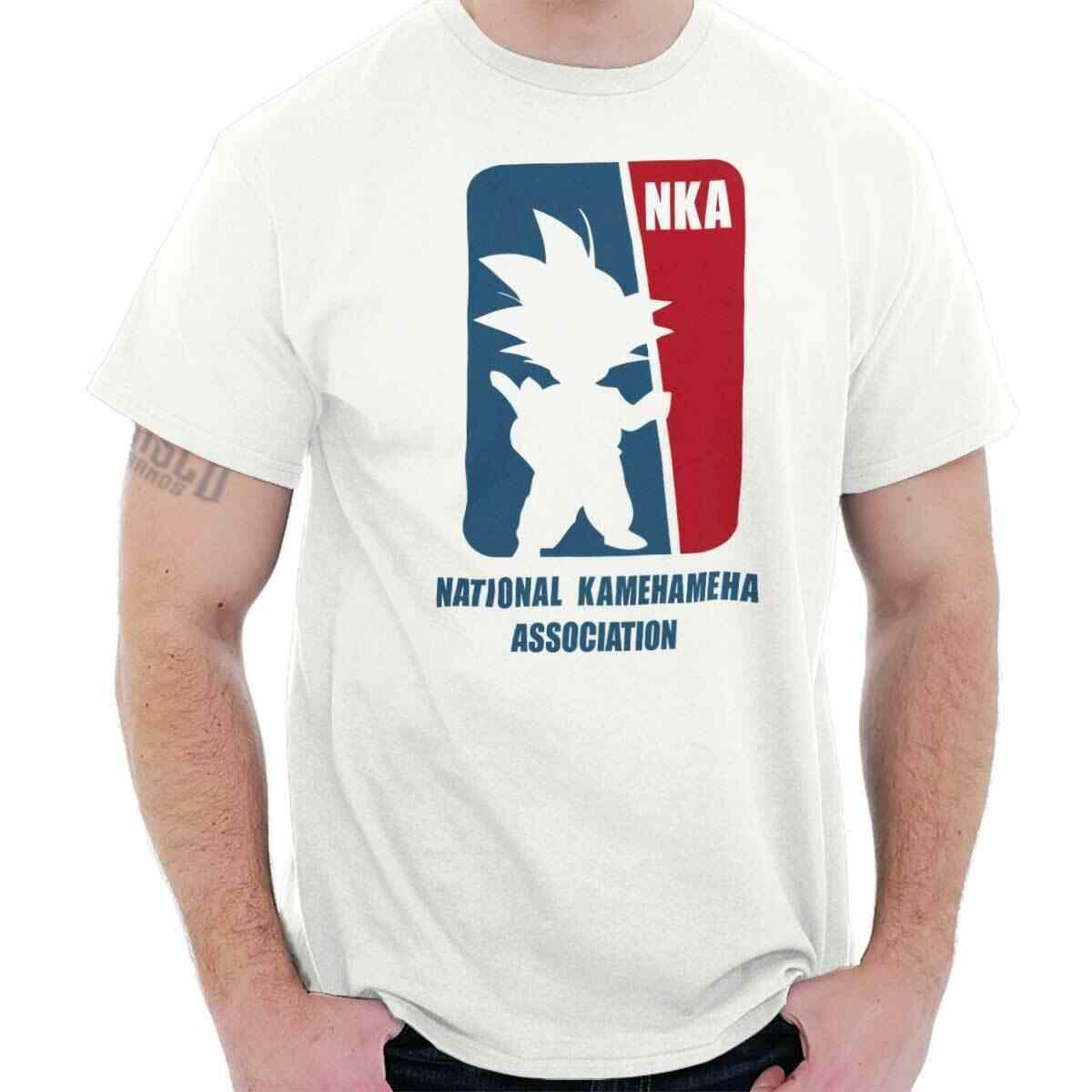 Национальный Kamehameha Association забавные Z Goku Дракон подарочные шарики Классическая футболка Te