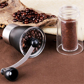Coffee Grinder Washable Ceramic Core Handmade Mini Coffee Bean Burr Grinders Mill Kitchen Tool portable manual coffee grinder 6