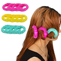 8PCS Curler Makers Soft  Bendy Twist Curls DIY Styling Hair Sweet ring Hair Curler