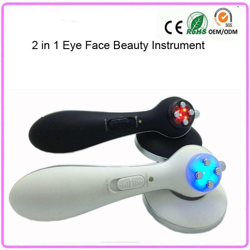 Needle Free Electroporation RF Radio Frequency Collagen Stimulation Skin Tighten Face Eye Lifting Wrinkle Remover Beauty Machine kingdom kd 9900 ems rf electroporation beauty device