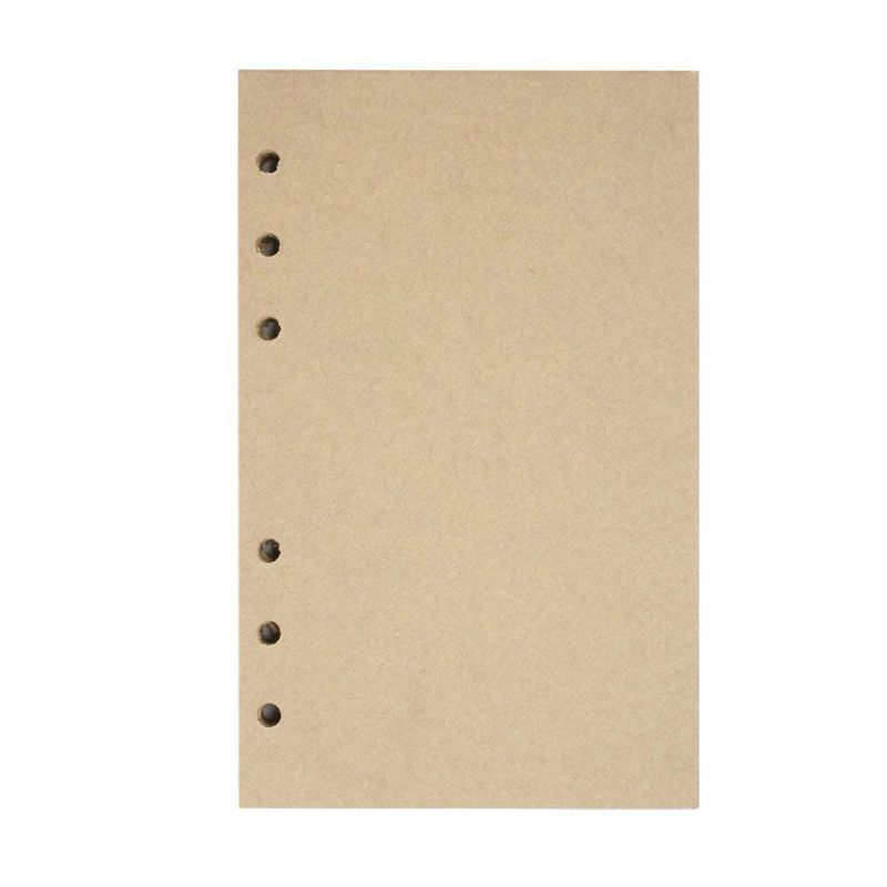 Refillable Craft Paper Perfect Premium PU Leather Classic Embossed Travel Journal Diary