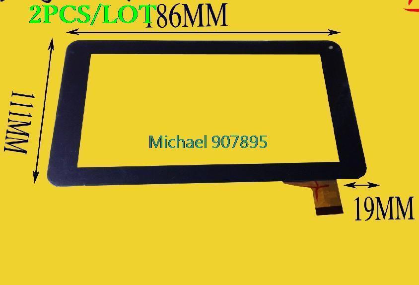 2pcS 7inch  Tablet Capacitive External Screen RP-246A-7.0-(86V)-A2
