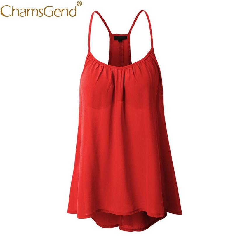 Shirt women casual loose sleeveless chiffon camis female summer beach plus size blouse tops 80320
