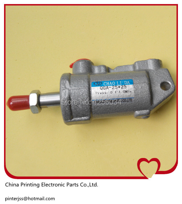 5 pieces air cylinder for Heidelberg, SM74 and 102 printing machine parts QGA25*25 cylinder 00.580.4127 heidelberg printing machine special ink transfer combined pressure cylinder 20 20 air cylinder for heidelberg
