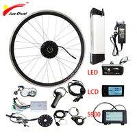 Е байка 36В 500 Вт комплект для переделки электрического велосипеда samsung е байка 36В 12AH 20''24''26''700c мотор колесо для электровелосипеда Байк, спосо