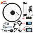 36В 500 Вт комплект для переоборудования электрического велосипеда Samsung батарея 36В 12Ач 20''24''26''700c Мотор колеса ebike e велосипед комплект bicicleta эле...