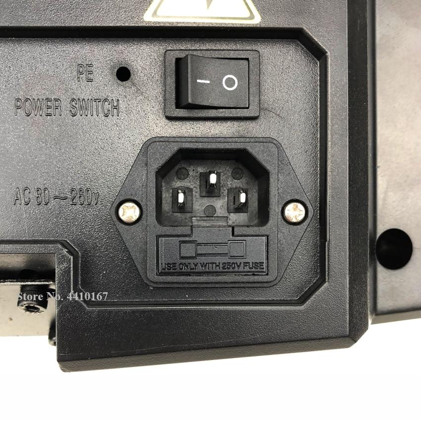 Juego de medidas/Kit Dro Tools JCS900 3AE sistemas de pantalla de visualización con 3 piezas de línea de vidrio óptico de 50mm a 1000mm para todas las máquinas - 6
