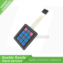 1pcs NEW 12 Key Membrane Switch Keypad 4 x 3 4*3 Matrix Array Matrix keyboard number 0-9
