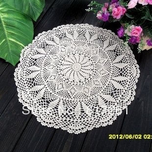 Free Shipping Crochet Lace Table Cloth Cover Overlay For Home Decoration  Wedding Table Cloth Cutout Tablecloths White Beige In Tablecloths From Home  ...