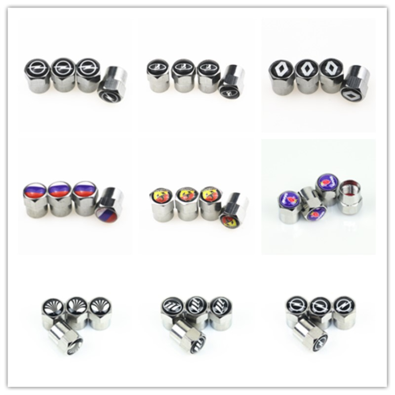 Car Wheel Tire Valves Tyre Air Caps case for <font><b>Hyundai</b></font> <font><b>ix35</b></font> iX25 i30 Elantra Accent car <font><b>accessories</b></font> Motorcycle Automobiles image