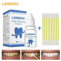 LANBENA Teeth Whitening Essence Powder Oral Hygiene Cleaning Serum Removes Plaque Stains Tooth Bleaching Dental Tools Toothpaste Health & Beauty