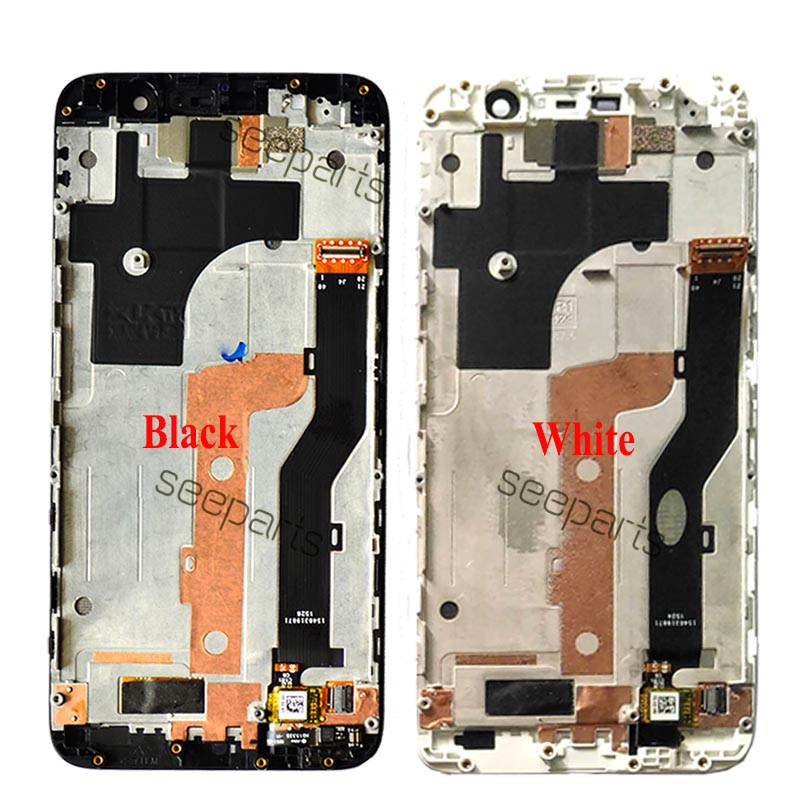 Image 2 - 5.5 Lenovo ZUK Z1 LCD Display Touch Screen Digitizer Assembly  With Frame Z1221 Replacement Parts Lenovo ZUK Z1 DisplayMobile Phone  LCD Screens