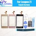 Leagoo Z1 Tela de Toque Digitador Garantia 100% Original Digitador Toque Substituição Do Painel de Vidro Para Leagoo Z1 + ferramentas + Adesivo