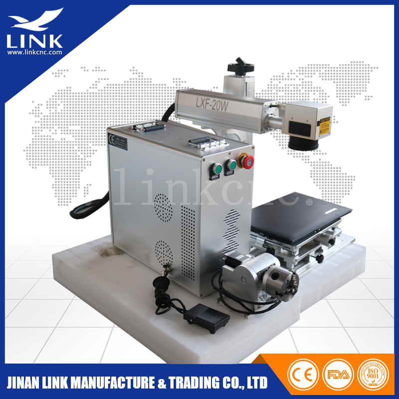 High Performance Link Portable Laser Marking Machine Part