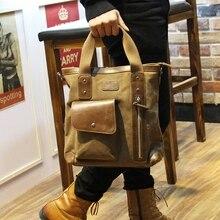 Tidogฮันรุ่นใหม่โรงเรียนของถุงผ้าใบชายกระเป๋าเดินทางที่เดินทางมาพักผ่อนกระเป๋าสะพาย