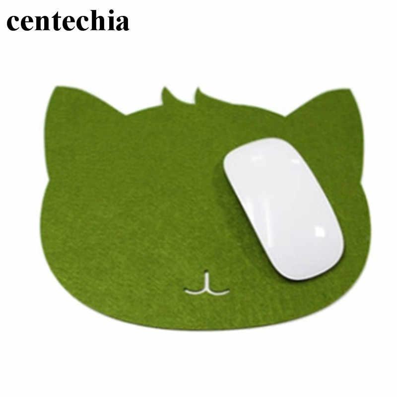 ユニバーサルかわいい猫マウスパッドは、コンピュータのノートパソコンのマウスマットゲーム Mousemat パッドデスク