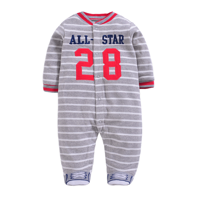 639b83ed2aff autumn winter female male baby pack polar fleece fabric one piece ...