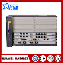 Huawei original  MA5683T OLT in Fiber Optic Equipment with SCUN*2 GICF*2 PRTE*2