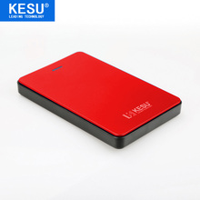 Кесу 2,5 »внешний жесткий диск 120 ГБ USB2.0 HDD Портативный Внешний HD жесткий диск для ПК/Mac красный цвет на продажу