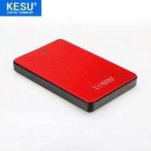 KESU 2.5'' External Hard Drive 80GB 120GB 160GB 250GB 320GB 500GB Storage USB2.0 HDD Portable External HD Hard Disk for PC/Mac